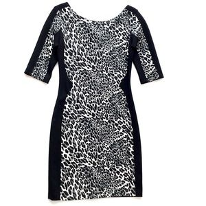 Amanda Uprichard Leopard Print Dress Size S USA